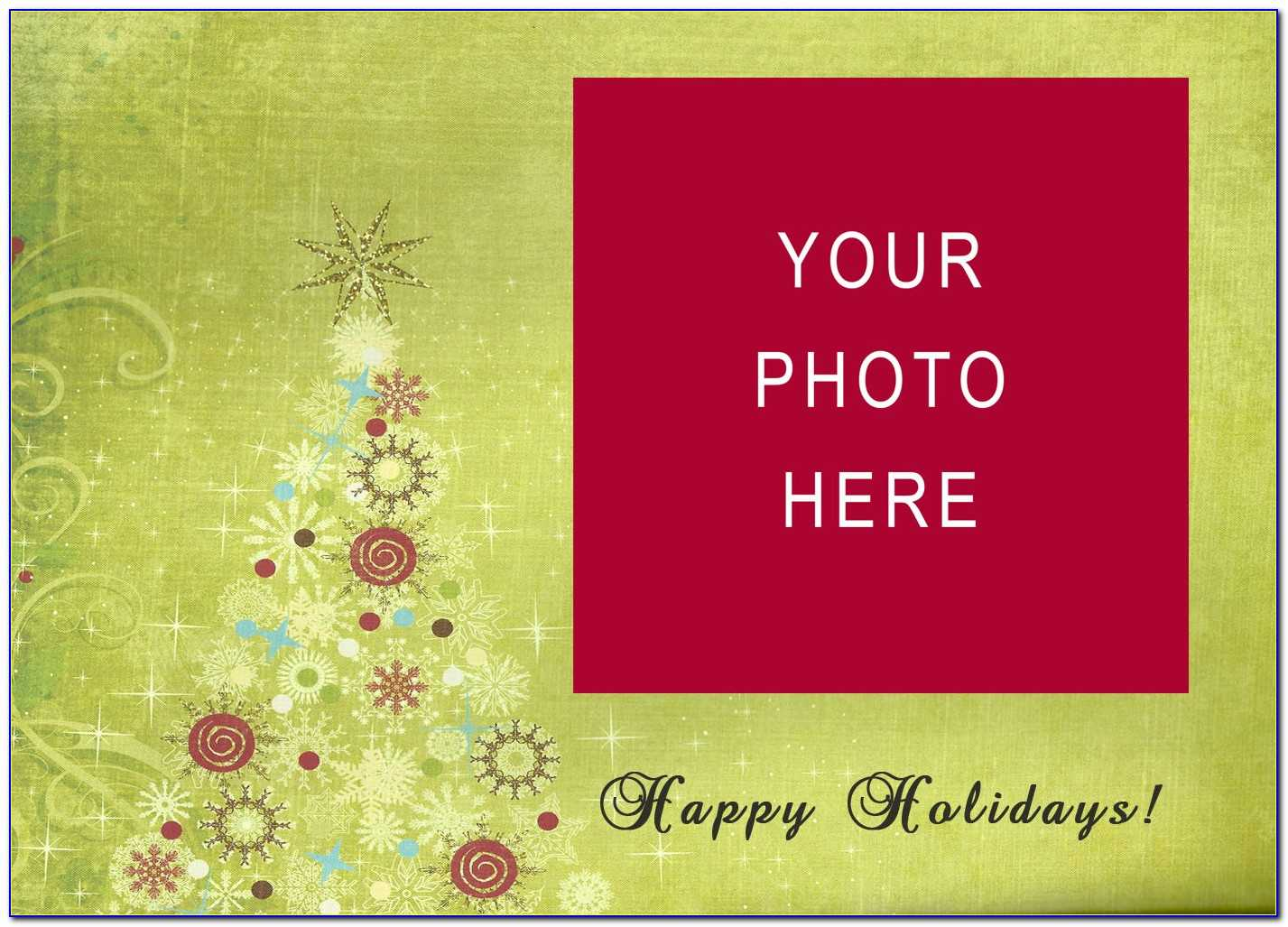 3D Pop Up Christmas Card Templates Free For Free Christmas Card Templates For Photographers