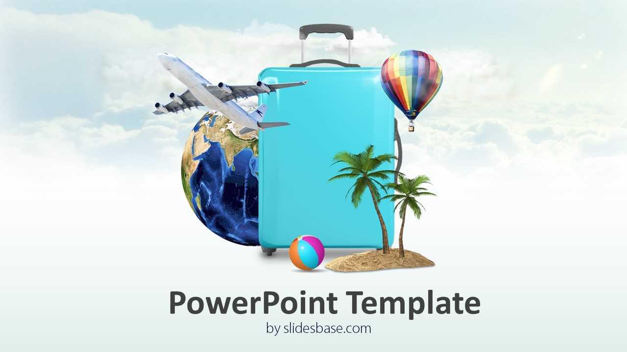 3D Travel Powerpoint Template Inside Powerpoint Templates Tourism