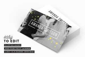 40+ Business Card Templates For Photographers   Decolore for Photography Business Card Template Photoshop
