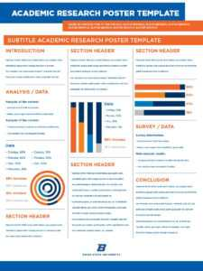 40 Eye-Catching Research Poster Templates (+Scientific for Powerpoint Academic Poster Template