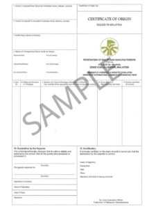 41+ Free Certificate Of Origin Templates In Word Excel Pdf pertaining to Certificate Of Origin Form Template