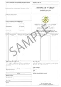 41+ Free Certificate Of Origin Templates In Word Excel Pdf with regard to Certificate Of Origin Template Word