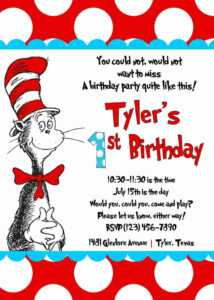 45 How To Create Dr Seuss Birthday Invitation Template Now regarding Dr Seuss Birthday Card Template