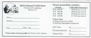 4570Book   Church Pledge Cards Clipart In Pack #4661 intended for Free Pledge Card Template