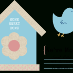 49 Free Change Of Address Cards (Moving Announcements) With Moving House Cards Template Free