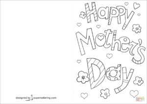 49 Visiting Happy Mothers Day Card Template Psd File intended for Mothers Day Card Templates