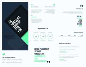5 Free Online Brochure Templates To Create Your Own Brochure _ throughout Online Free Brochure Design Templates