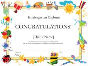 50 Free Creative Blank Certificate Templates In Psd for Free Kids Certificate Templates