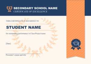 50 Free Creative Blank Certificate Templates In Psd intended for Manager Of The Month Certificate Template