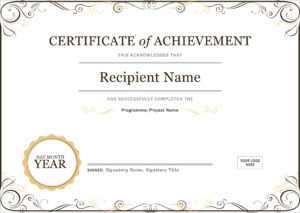50 Free Creative Blank Certificate Templates In Psd regarding Employee Anniversary Certificate Template