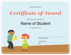50 Free Creative Blank Certificate Templates In Psd with Free School Certificate Templates