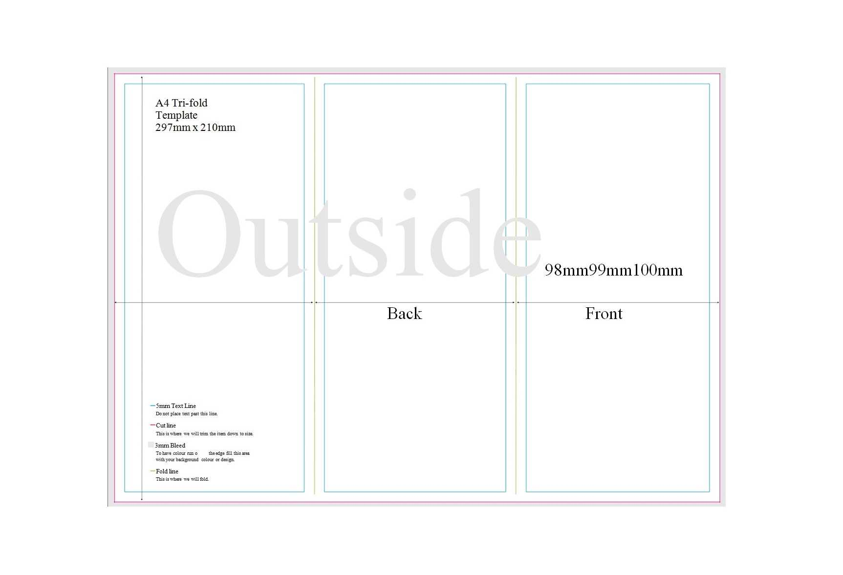 50 Free Pamphlet Templates [Word / Google Docs] ᐅ Templatelab Throughout Brochure Template For Google Docs