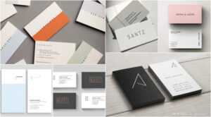 50 Minimal Business Cards That Prove Simplicity Is Beautiful inside Staples Business Card Template