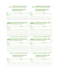 50 Printable Comment Card & Feedback Form Templates ᐅ Regarding Survey Card Template