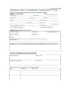 50 Referral Form Templates [Medical & General] ᐅ Templatelab regarding Referral Certificate Template