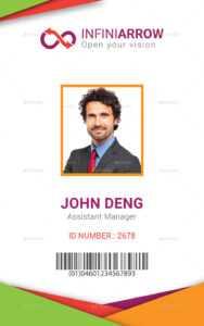 50Cc53 Sample Employee Id Card Template Employee Template in Id Card Template Word Free