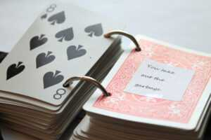 52 Reasons I Love You – Playing Card Book Tutorial intended for 52 Things I Love About You Deck Of Cards Template