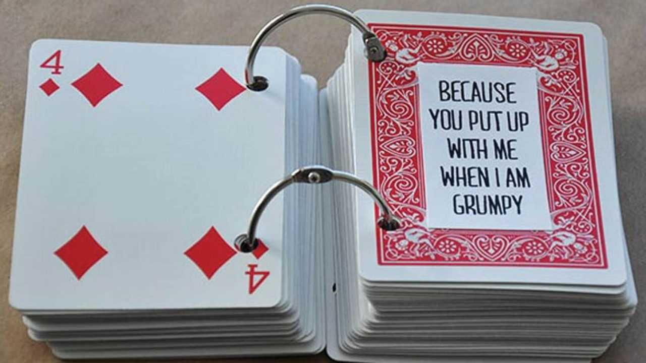 52 Things I Love About You Cards - Health Journal Throughout 52 Things I Love About You Deck Of Cards Template