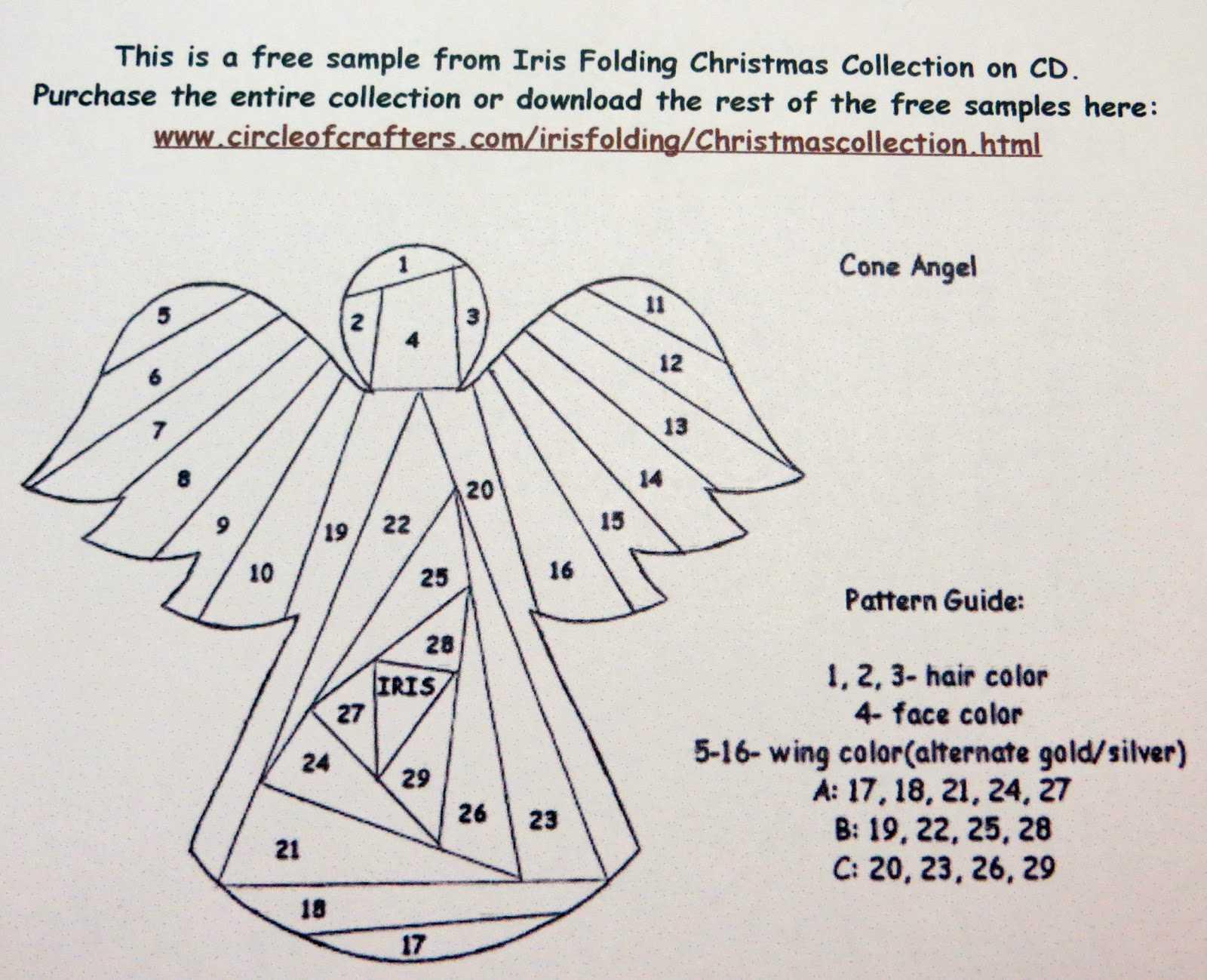 54003 Free Iris Folding Templates | Wiring Resources Throughout Iris Folding Christmas Cards Templates