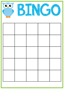 6 Best Images Of Free Printable Bingo Template – Free inside Bingo Card Template Word
