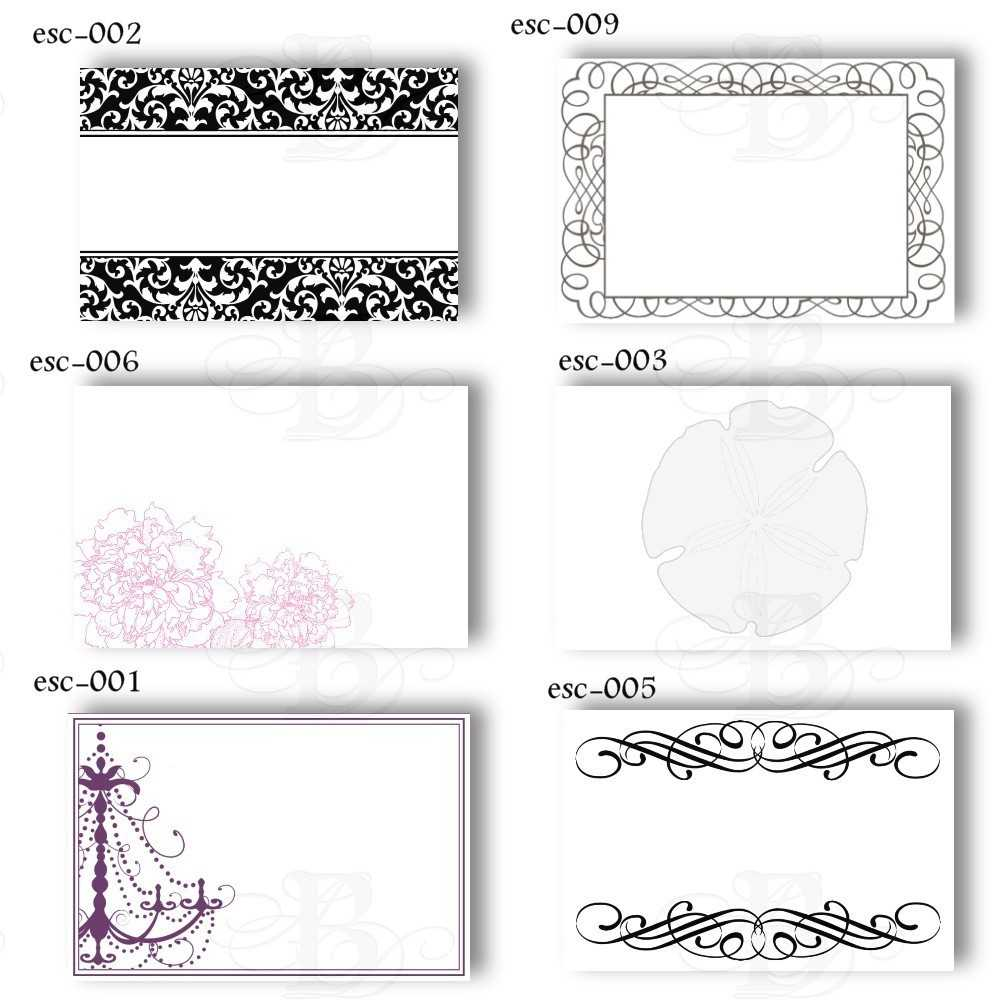 6 Best Images Of Free Printable Wedding Place Cards - Free Intended For Free Templates For Cards Print