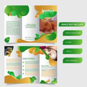 6 Page Trifold Brochure Template With Liquid Style pertaining to Nutrition Brochure Template