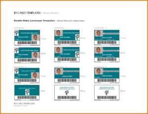 62 Creating Template For Id Cardword For Free For for Id Card Template Word Free