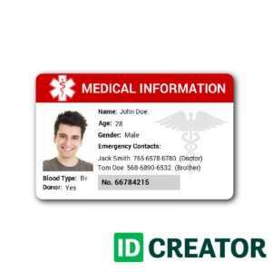 64 Creative Hospital Id Card Template Free Download Maker pertaining to Hospital Id Card Template