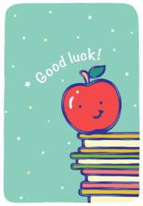 68 Online Free Printable Good Luck Card Template In in Good Luck Card Template