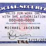 69 Visiting Usa Id Card Template Now With Usa Id Card For Social Security Card Template Download