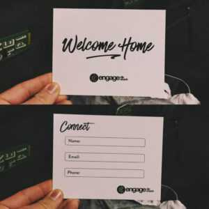 7 Perfect Church Connection Card Examples – Pro Church Tools for Church Visitor Card Template