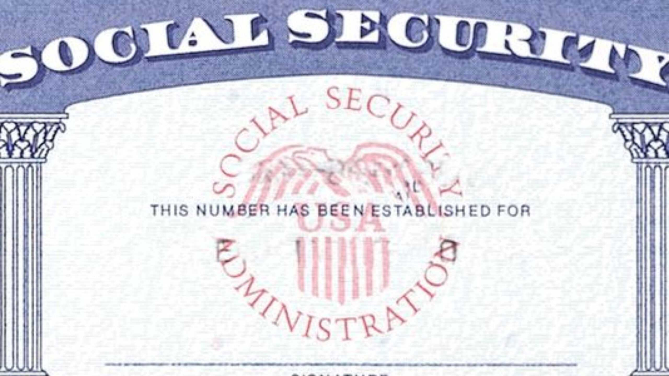 7 Social Security Card Template Psd Images - Social Security Regarding Blank Social Security Card Template