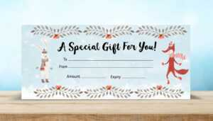 8 Amazing Gift Certificate Templates For Every Business pertaining to Custom Gift Certificate Template