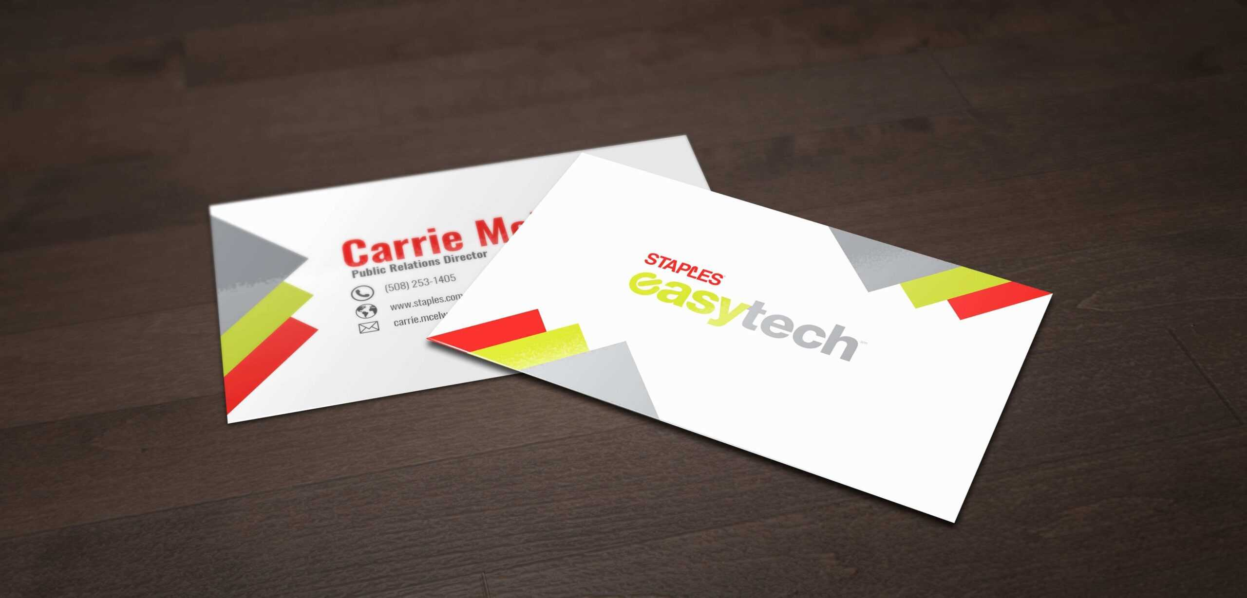 80 Customize Our Free Business Card Templates Office Depot For Office Depot Business Card Template