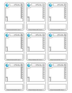 81 Creative Blank Game Card Template For Word For Free For inside Template For Game Cards