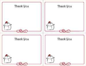 87 Free Printable Thank You Note Card Template Free In with Free Printable Thank You Card Template