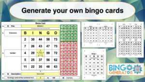 94 Online Bingo Card Template 5X5 Nowbingo Card Template in Blank Bingo Card Template Microsoft Word
