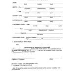A Birth Certificate Template | Safebest.xyz In Birth Certificate Translation Template