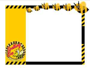 A Collection Of Free Certificate Borders And Templates with regard to Spelling Bee Award Certificate Template