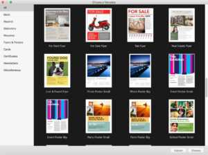 A Few Words On Mac Pages And Templates | Tera Talks regarding Mac Brochure Templates