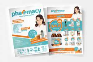 A4 Pharmacy Poster Template – Psd, Ai & Vector – Brandpacks in Pharmacy Brochure Template Free