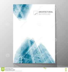 Abstract Architecture Background, Layout Brochure Template throughout Architecture Brochure Templates Free Download