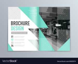 Abstract Brochure Design Template In A4 Size in Engineering Brochure Templates Free Download