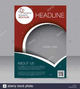 Abstract Flyer Design Background. Brochure Template. Can Be within Brochure Design Templates For Education