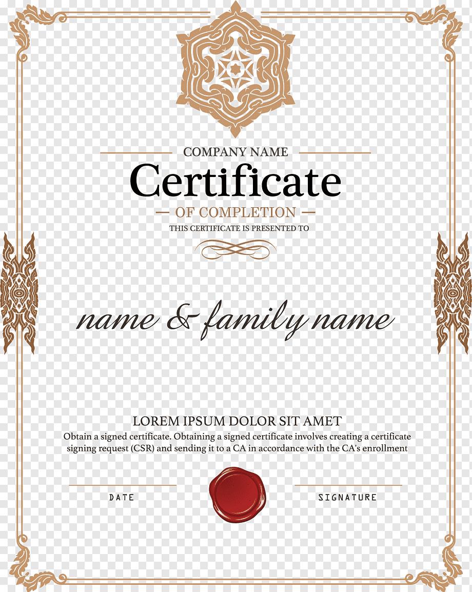 Academic Certificate Diploma Authorization Certificate Throughout Certificate Of Authorization Template