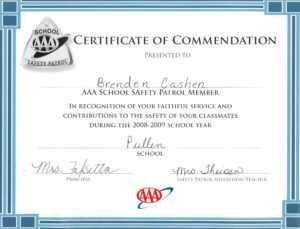 Acheivments – Brenden Cashen Portfolio intended for Safety Recognition Certificate Template
