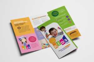 After School Care Tri-Fold Brochure Template In Psd, Ai pertaining to Tri Fold School Brochure Template