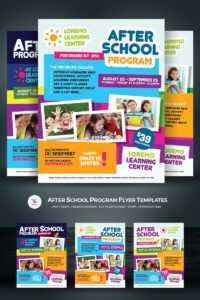 After School Program Flyer Corporate Identity Template inside School Brochure Design Templates