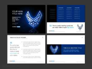 Air Force Powerpoint Template Designs – Trashedgraphics within Air Force Powerpoint Template