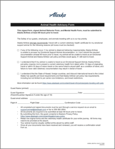 Airline Requirements For Traveling With An Emotional Support regarding Fit To Fly Certificate Template
